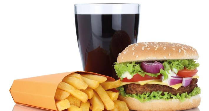 Cheeseburger-Hamburger-menu Liefer- und Abholservice