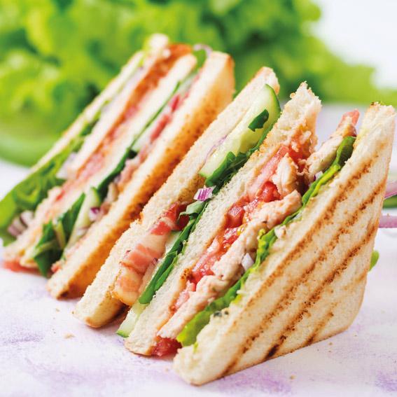sandwiches Liefer- und Abholservice